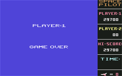 Space Pilot - Screenshot - Game Over