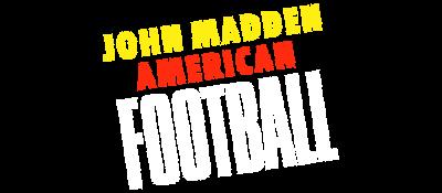 John Madden Football - Clear Logo