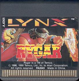Rygar - Cart - Front