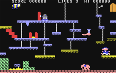Bouncer (Mastertronic) - Screenshot - Gameplay