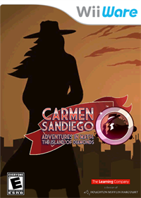 Carmen Sandiego Adventures in Math: The Island of Diamonds - Box - Front