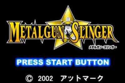 Metalgun Slinger - Screenshot - Game Title