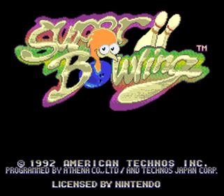 Super Bowling - Screenshot - Game Title