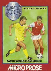 Keith Van Eron's Pro Soccer - Box - Front