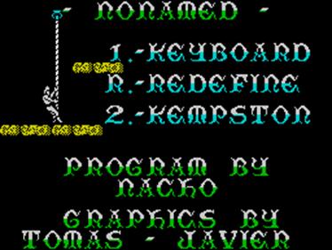 Nonamed - Screenshot - Game Select