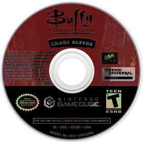 Buffy the Vampire Slayer: Chaos Bleeds - Disc