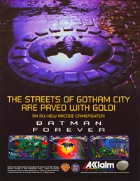 Batman Forever - Advertisement Flyer - Front