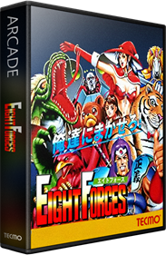 Eight Forces - Box - 3D