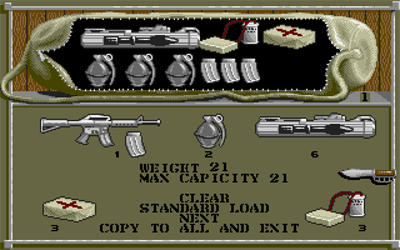 Airborne Ranger - Screenshot - Gameplay