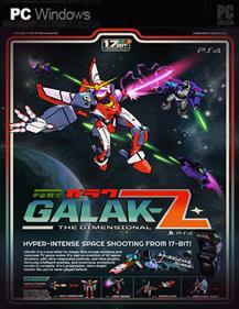 GALAK-Z - Fanart - Box - Front