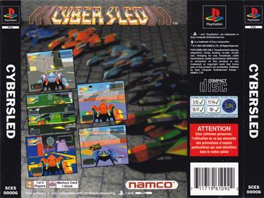 Cybersled - Box - Back