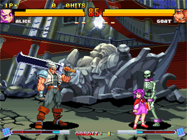 Asura Buster: Eternal Warriors - Screenshot - Gameplay