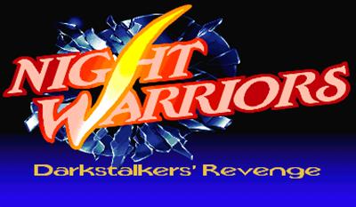 Night Warriors: Darkstalkers' Revenge - Screenshot - Game Title