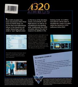 A320 Airbus: Edition USA - Box - Back