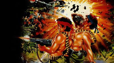 Ikari Warriors (Europe) - Fanart - Background