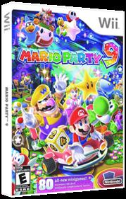 Mario Party 9 - Box - 3D