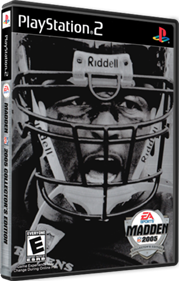 Madden NFL 2005: Collector's Edition - Box - 3D