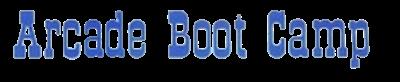 Arcade Boot Camp - Clear Logo