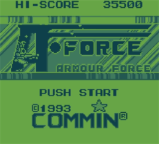 Armour Force - Screenshot - Game Title