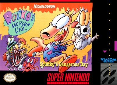 Rocko's Modern Life: Spunky's Dangerous Day - Box - Front
