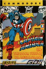 Captain America in: The Doom Tube of Dr. Megalomann