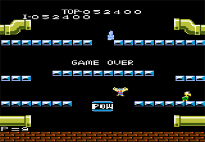 Mario Bros. - Screenshot - Game Over