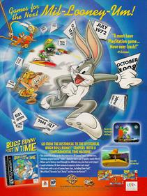 Bugs Bunny: Lost in Time - Advertisement Flyer - Front