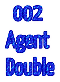 002 Agent Double - Clear Logo
