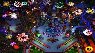 3-D Ultra Pinball: Thrill Ride - Screenshot - Gameplay