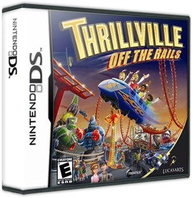 Thrillville: Off the Rails - Box - 3D