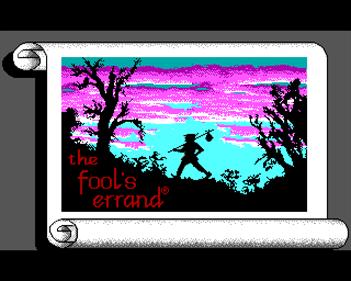 The Fool's Errand - Screenshot - Game Title