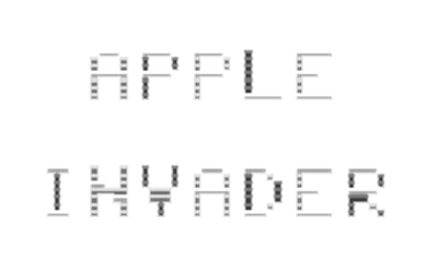 Apple Invader - Clear Logo