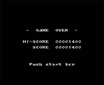 8 Eyes: Belmont's Quest - Screenshot - Game Over