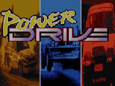 Power Drive - Screenshot - Game Title