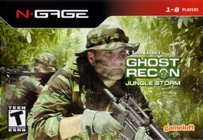 Tom Clancy's Ghost Recon: Jungle Storm - Box - Front