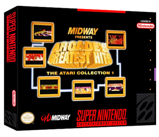 Arcade's Greatest Hits: The Atari Collection 1 - Box - 3D