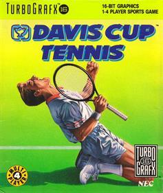 Davis Cup Tennis - Box - Front