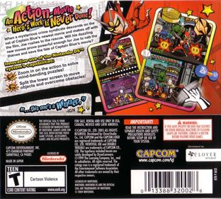 Viewtiful Joe: Double Trouble! - Box - Back