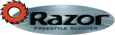 Razor: Freestyle Scooter - Clear Logo