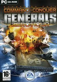 Command & Conquer: Generals: Zero Hour - Box - Front