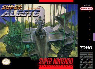 Super Aleste - Fanart - Box - Front