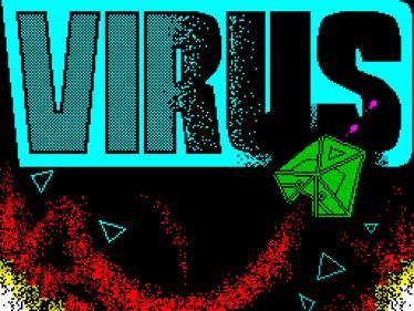 Virus - Screenshot - Game Title