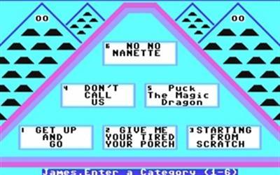 The $100,000 Pyramid - Screenshot - Gameplay