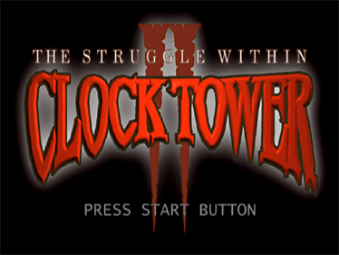 Clock Tower II: The Struggle Within - Screenshot - Game Title