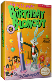 The Bugs Bunny Birthday Blowout - Box - 3D