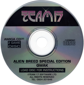 Alien Breed Special Edition & Qwak - Disc