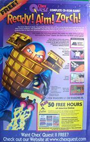 Chex Quest - Advertisement Flyer - Back