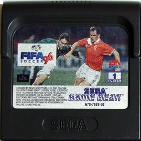 FIFA Soccer 96 - Cart - Front