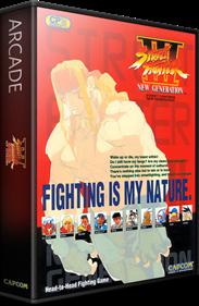 Street Fighter III: New Generation - Box - 3D