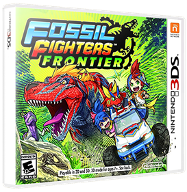 Fossil Fighters: Frontier - Box - 3D